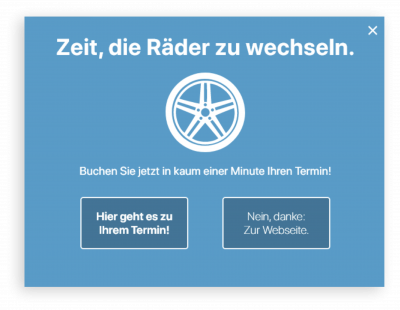 Blitztermin Maxi Widget